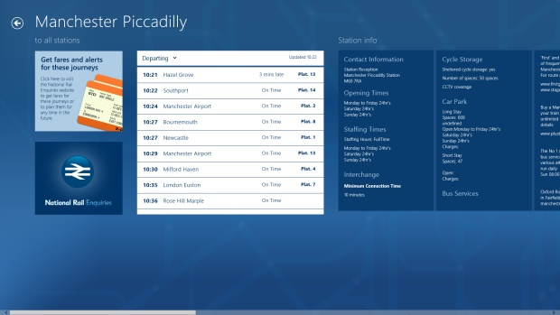 Top 10 Windows 8 Apps: National Rail Enquiries