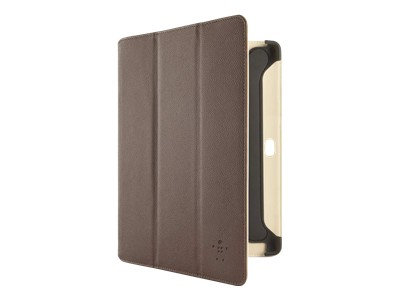Belkin Cinema Leather Folio with Stand - case for web tablet