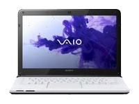 "Sony VAIO E Series SVE14116FXW - Core i5 2450M / 2.5 GHz - Windows 7 Home Premium 64-bit - 6 GB RAM - 750 GB HDD - DVD-Writer - 14"" wide 1366 x 768 / HD - Intel HD Graphics 3000 - seafoam white - keyboard: QWERTY"
