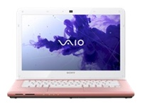 "Sony VAIO E Series SVE14116FXP - 14"" - Core i5 2450M - 6 GB RAM - 750 GB HDD - QWERTY"