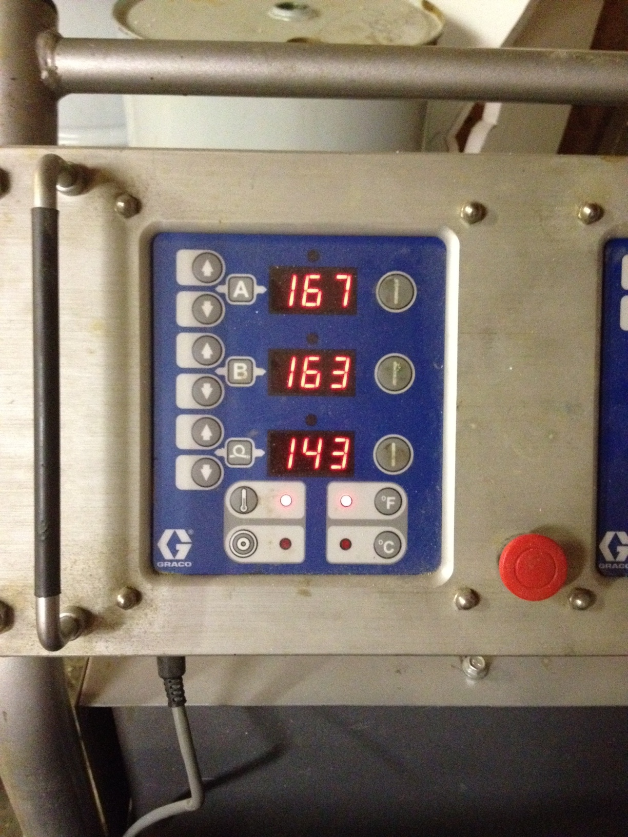 Temperature during manufacture
