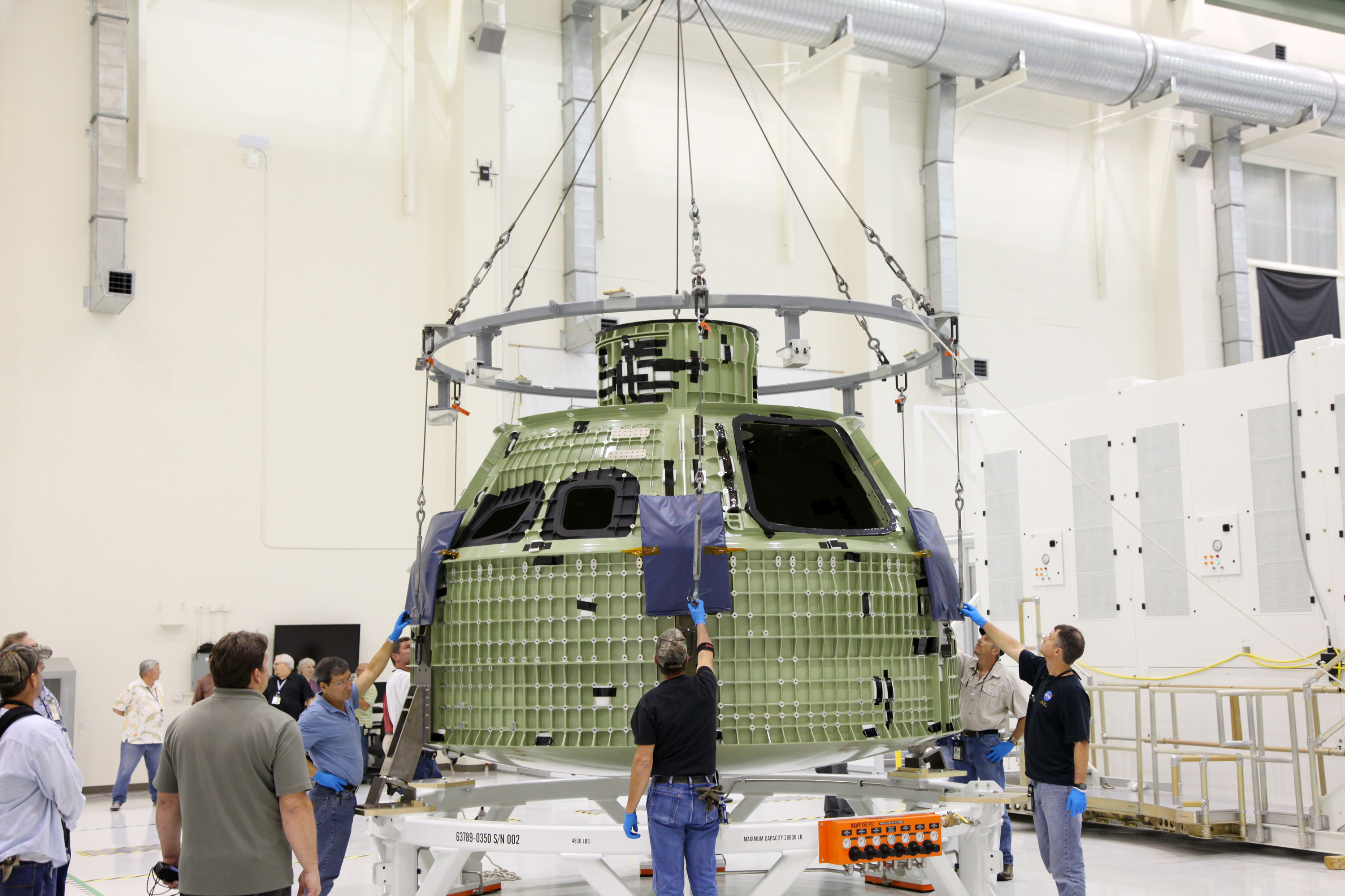 Unveiling the Orion spacecraft
