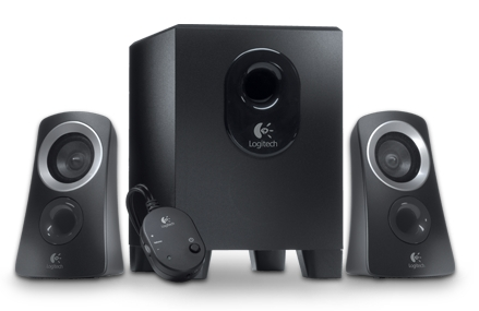 The Logitech Z313 speaker system includes a subwoofer. The shipping on this product alone would usually cost close to $20!