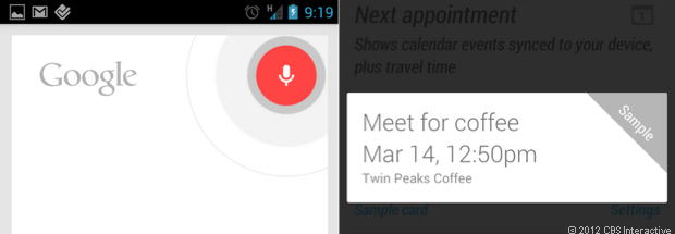 Google Voice Actions, Google Now