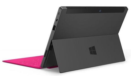 Microsoft Surface, Windows 8 Pro model.