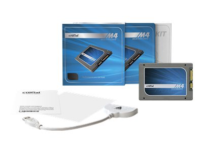 "Crucial m4 2.5"" SSD w/Data Transfer Kit (512GB)"
