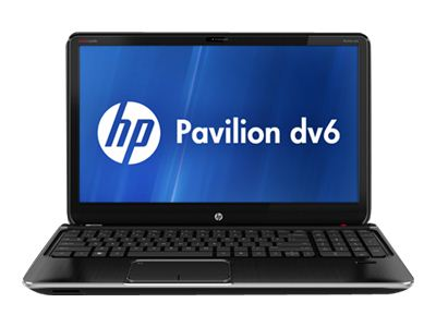 "HP Pavilion dv6-7134nr Entertainment - Core i7 3610QM / 2.3 GHz - Windows 7 Home Premium 64-bit - 8 GB RAM - 750 GB HDD - DVD SuperMulti - 15.6"" HD BrightView wide 1366 x 768 / HD - Intel HD Graphics 4000 - midnight black, brushed aluminum"