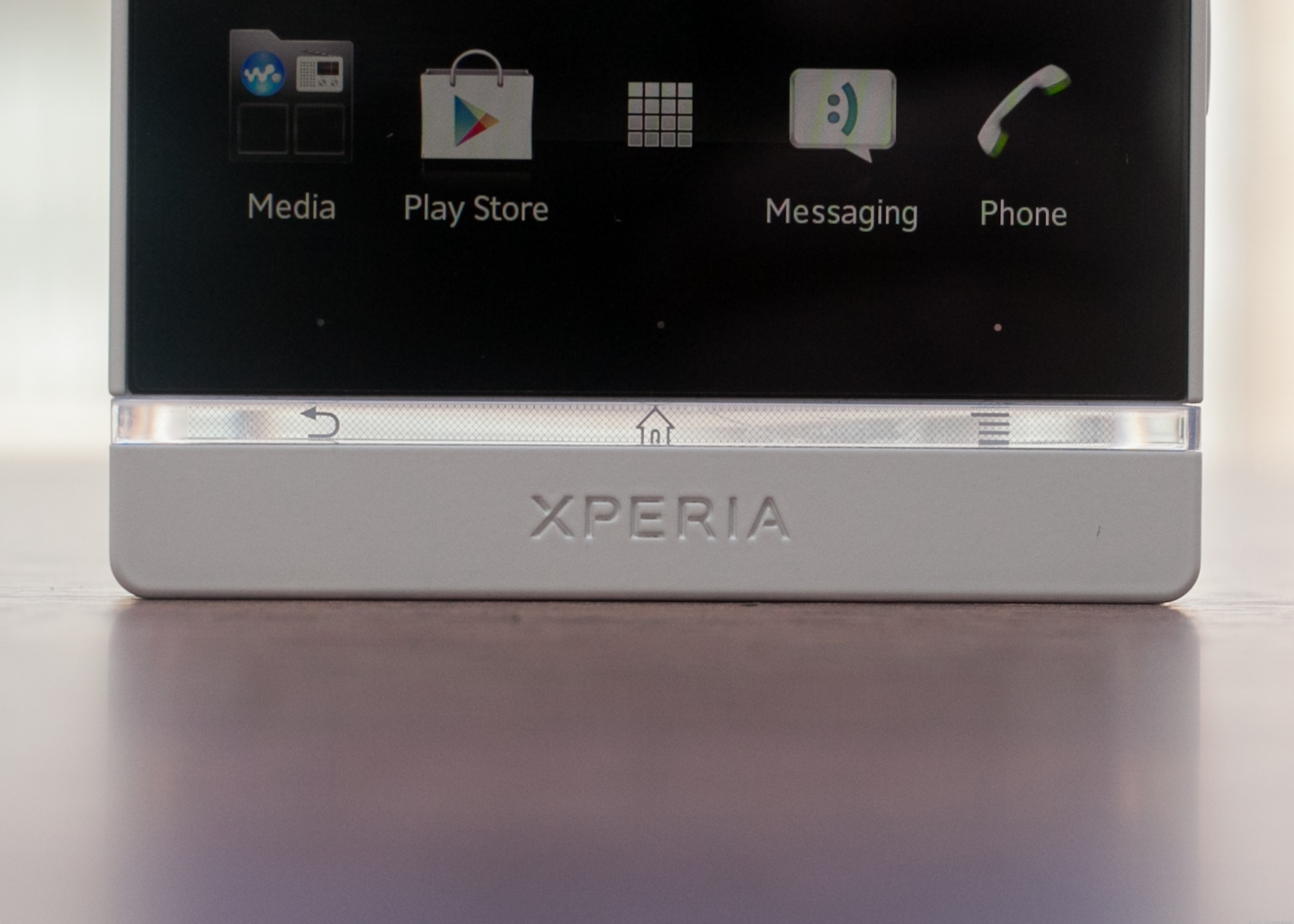 Sony Xperia S - white (unlocked)