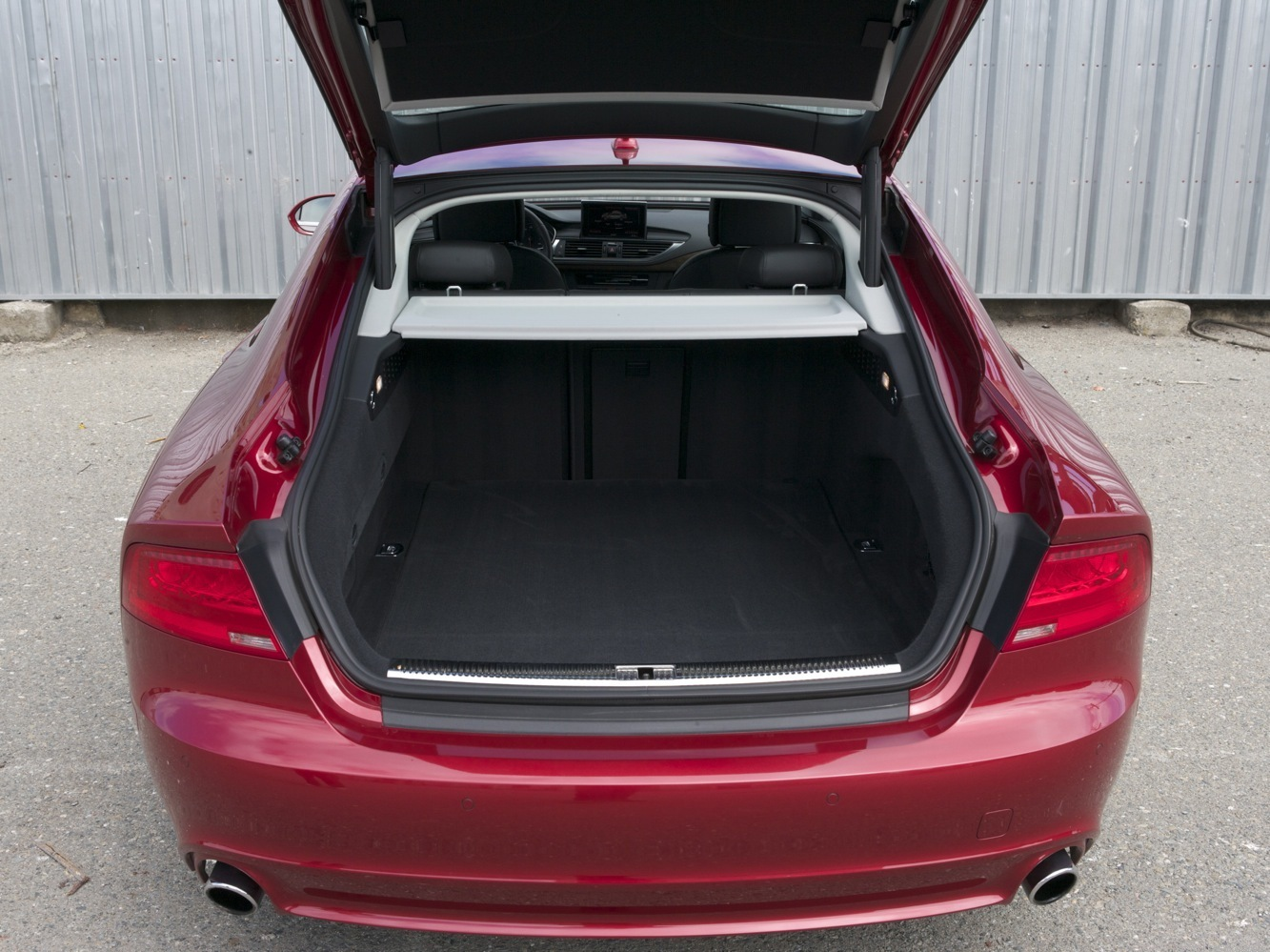 Audi A7 rear hatch