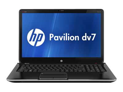 "HP Pavilion dv7-7020us - Core i5 3210M / 2.5 GHz - Windows 7 Home Premium 64-bit - 8 GB RAM - 750 GB HDD - DVD SuperMulti - 17.3"" HD+ BrightView wide 1600 x 900 / HD+ - Intel HD Graphics 4000 - midnight black"