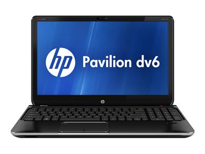 "HP Pavilion dv6-7136nr - A series A6-4400M / 2.6 GHz - Windows 7 Home Premium 64-bit - 6 GB RAM - 640 GB HDD - DVD SuperMulti - 15.6"" HD BrightView wide 1366 x 768 / HD - AMD Radeon HD 7520G - midnight black, brushed aluminum"