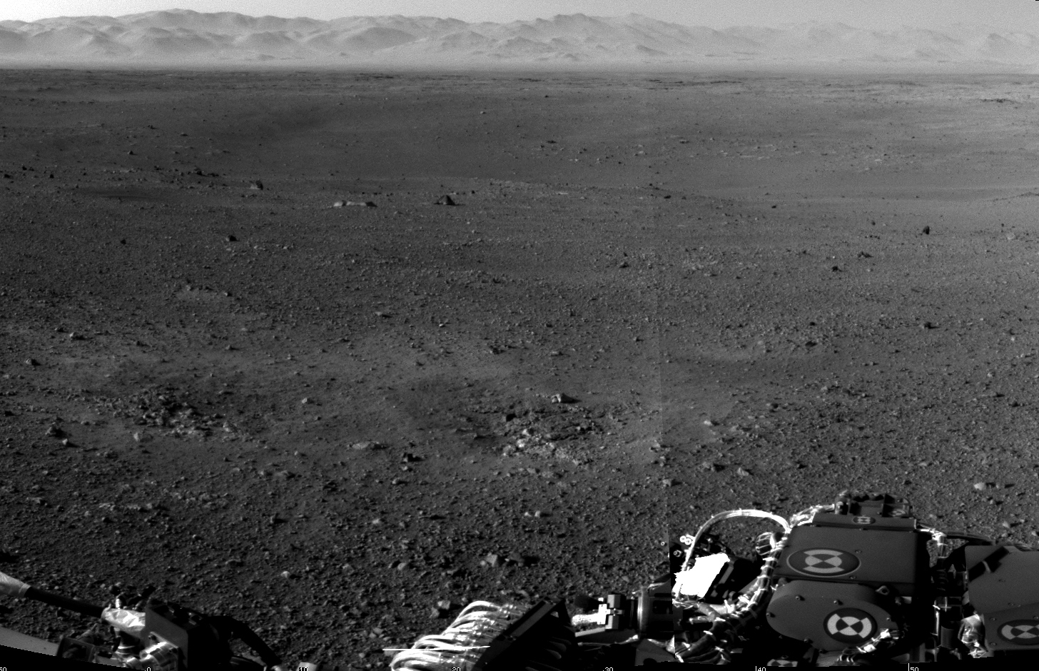 Rover image from Mars