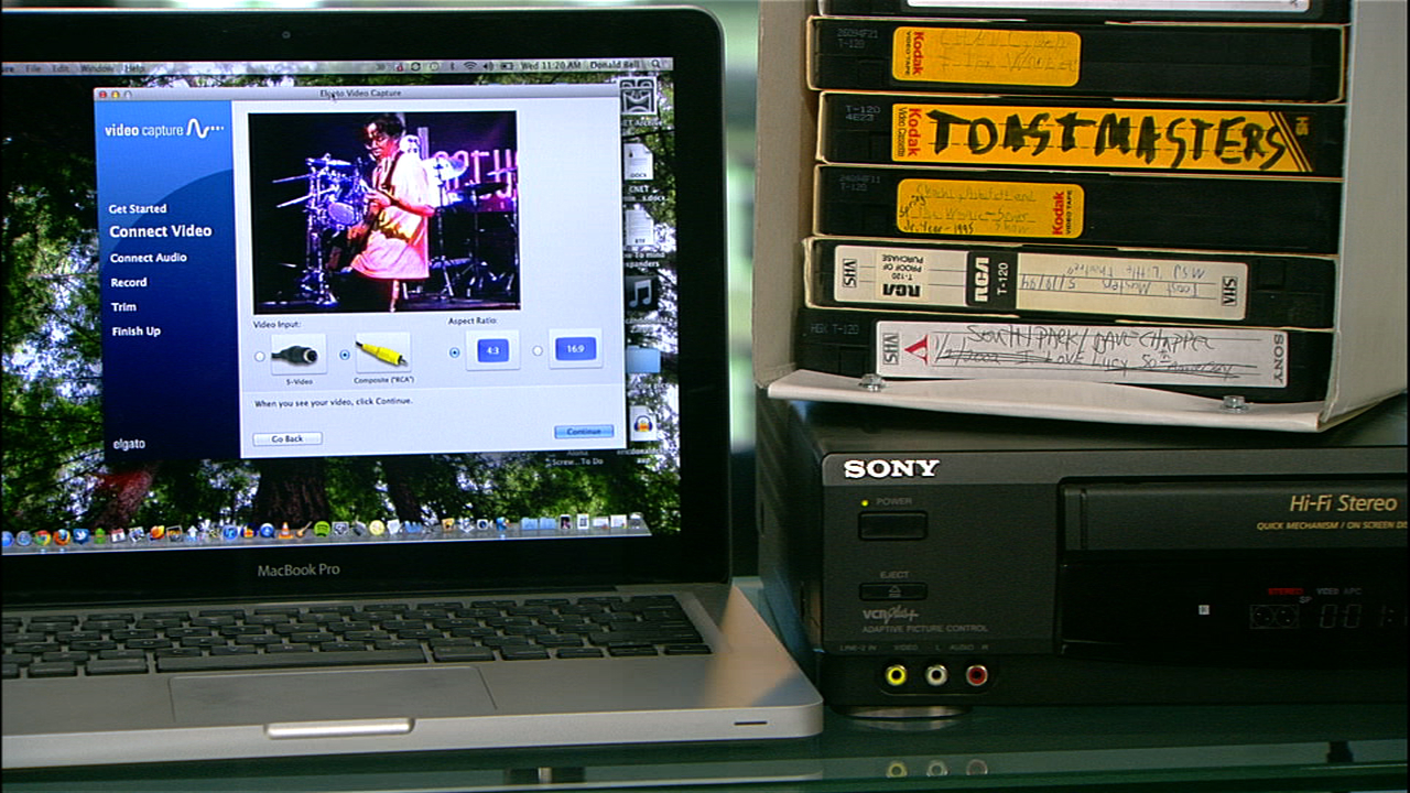 Video: Transfer VHS tapes to your computer