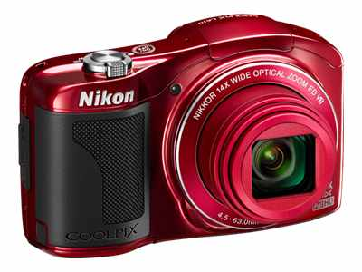 Nikon Coolpix L610 (Red)