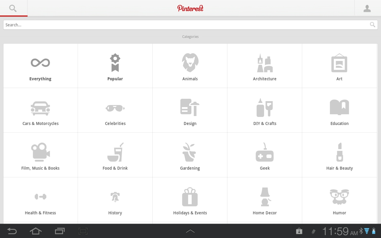 Pinterest (Android)