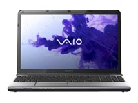 "Sony VAIO E Series SVE15115FXS - Core i5 3210M / 2.5 GHz - Windows 7 Home Premium 64-bit - 6 GB RAM - 750 GB HDD - DVD SuperMulti - 15.5"" wide 1366 x 768 / HD - Intel HD Graphics 4000 - aluminium silver - keyboard: QWERTY"