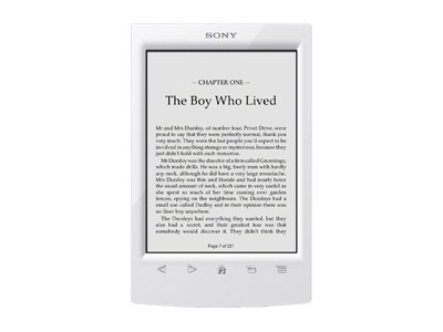 Sony Reader PRS-T2 (white)