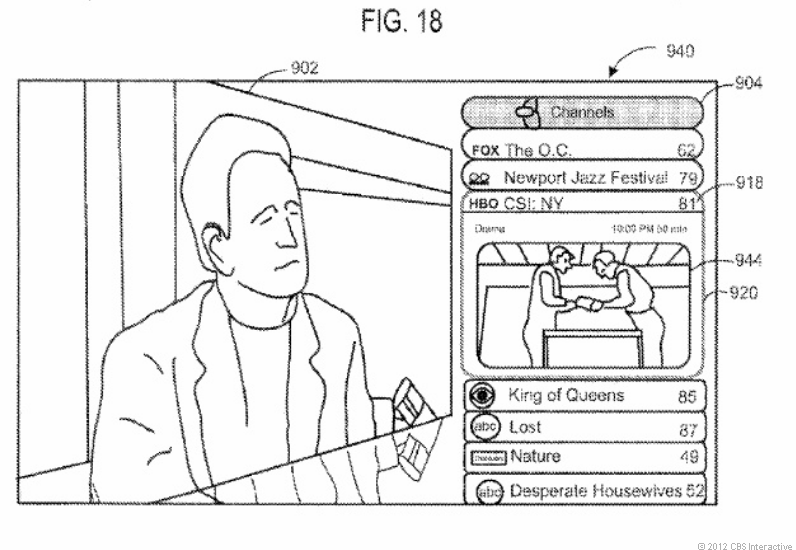 Apple's DVR patent.