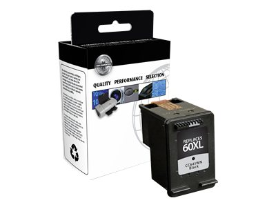 V7 - High Yield - black - remanufactured - ink cartridge ( equivalent to: HP 60XL )