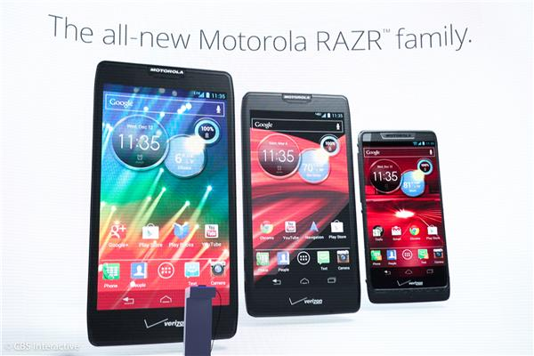 Three new Motorola Droids
