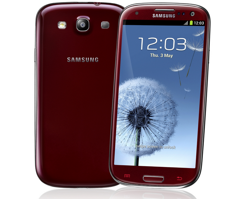 Garnet Red Samsung Galaxy S3