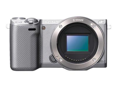 Sony Alpha NEX-5R (body only, silver)