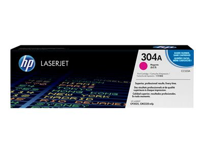 HP 304A - magenta - original - toner cartridge ( CC533A )