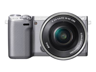Sony Alpha NEX-5R (with 16-50mm lens, silver)