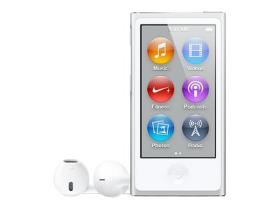 Apple iPod Nano (seventh generation, silver)