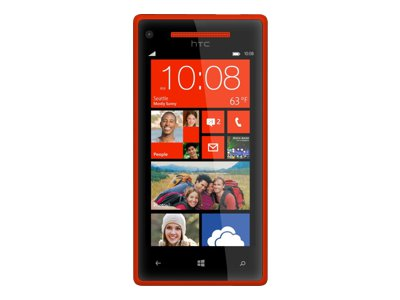 HTC Windows Phone 8X - red (Verizon Wireless)