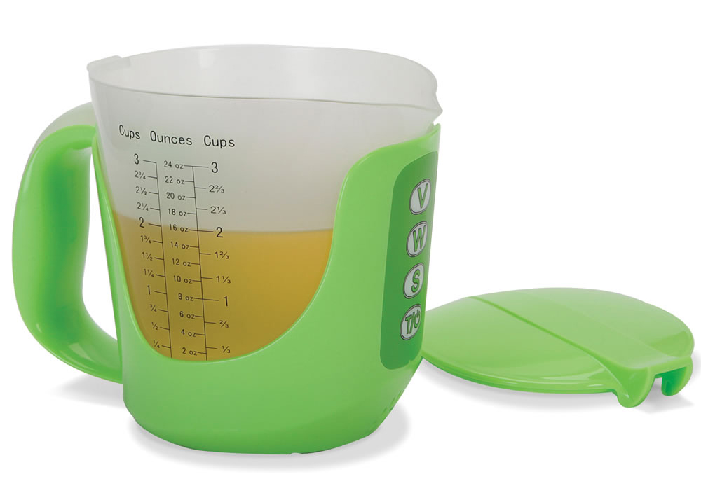 The measuring cup finally gets a say in the matter.