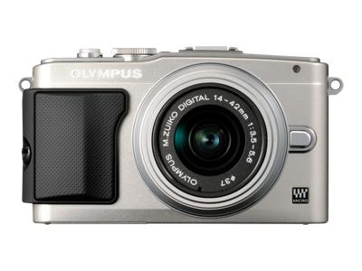 Olympus PEN E-PL5 (with 14-42mm lens, Silver)