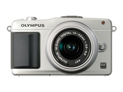 Olympus E-PM2 - Digital camera - 3D - mirrorless system - 16.1 Mpix - 3 x optical zoom M.Zuiko Digital 14-42mm II lens - silver
