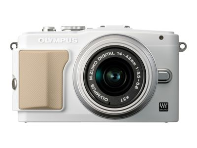 Olympus PEN E-PL5 (with 14-42mm lens, White)