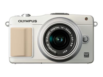 Olympus PEN E-PM2 (Body Only, White)