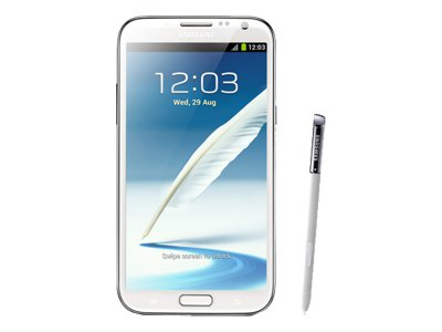 Samsung Galaxy Note 2 (marble white)