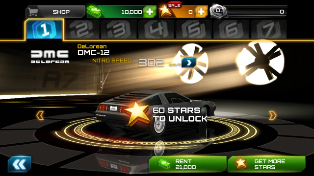 Asphalt 7: Heat (iOS)