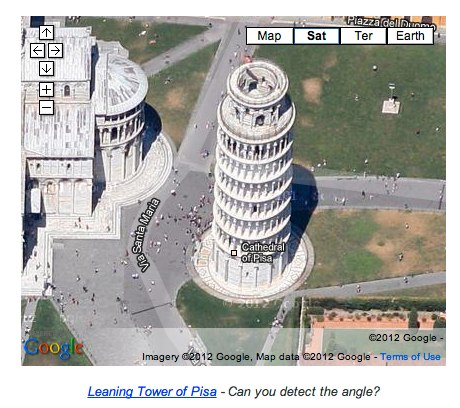 The new look at the Leaning Tower of Pisa.