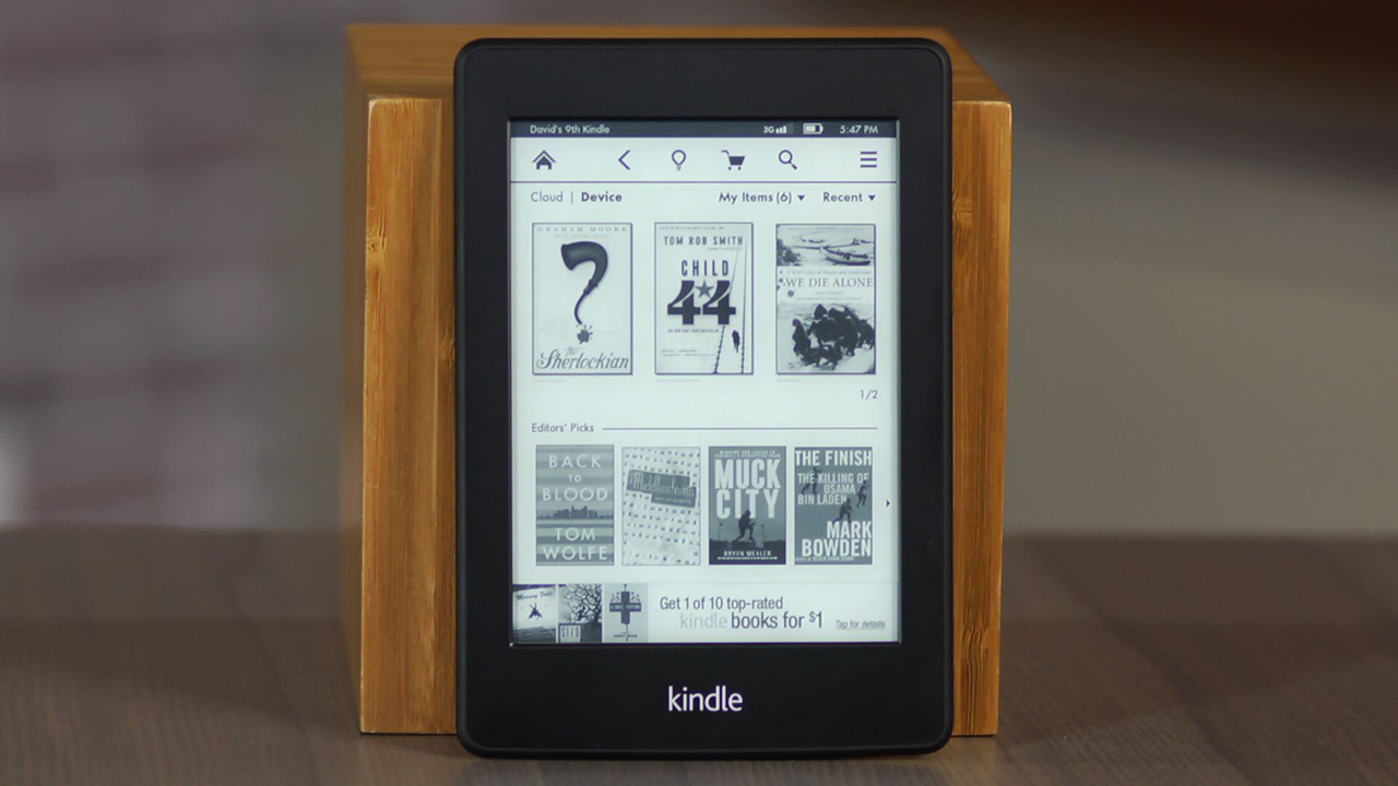 Video: Kindle Paperwhite shines