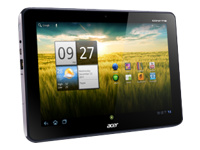 Acer ICONIA Tab A200-10g08u - tablet - Android 3.x (Honeycomb) - 8 GB - 10.1""