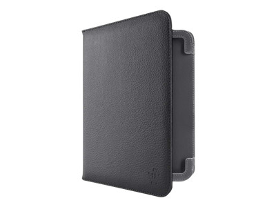 Belkin Leather Cover with Stand - protective cover for web tablet