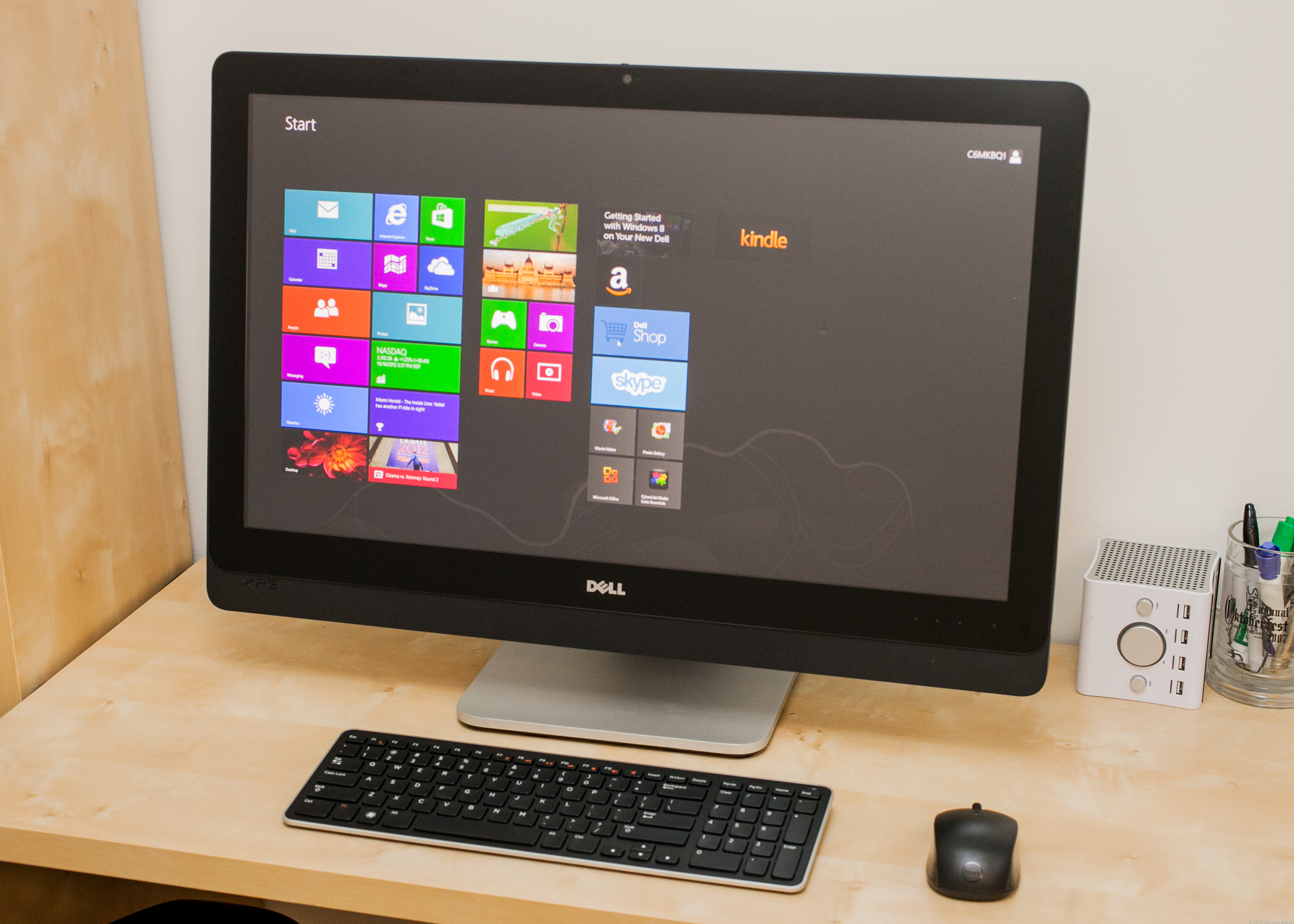 Dell's new XPS One 27 is perhaps the best all-around Windows 8 desktop available.