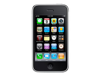 Apple iPhone 3GS - 8GB - black (AT&T)