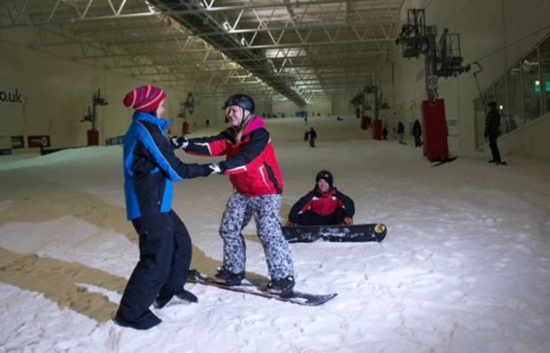 Learn to Snowboard in a Day