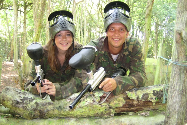 Paintballing for Two