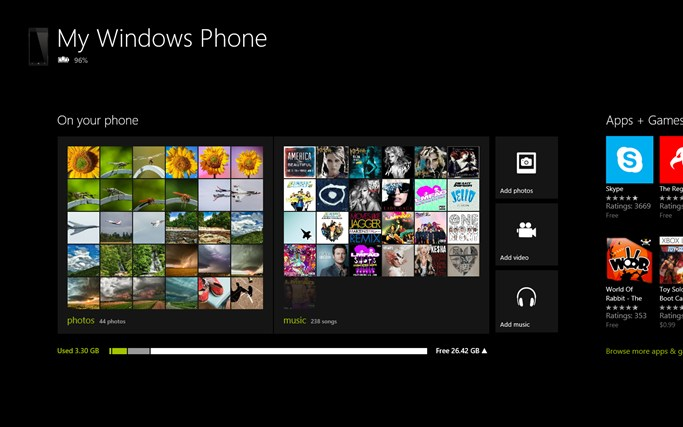 My Windows Phone app