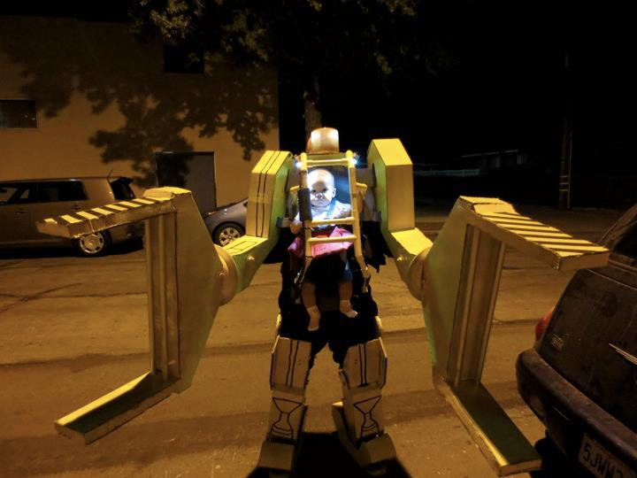 Work Loader costume