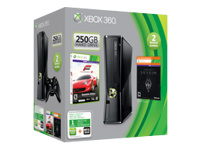 Microsoft Xbox 360 S (250GB) Holiday Bundle (Forza 4 & Skyrim)