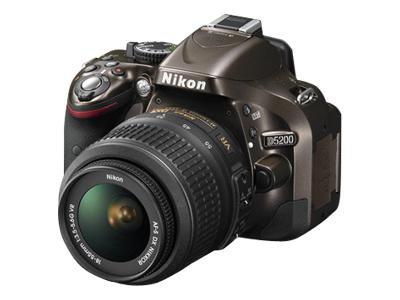 Nikon D5200 (with 18-55mm lens, Bronze)