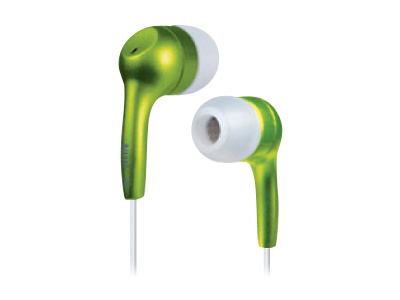 jWIN JH E21 Lightweight Earphones (Green)